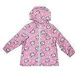 Hello Kitty Mädchen Mantel Hearts-Kids Zip Jacket-Pink, 7-8 Jahre