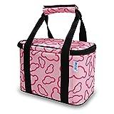 Sacchetto del pranzo, Pranzo al sacco isolato Lunch Box Lunch Tote Boxes Borsa cool per uomini e donne Bento Box termica per bambini e adulti per ufficio / scuola / Picnic (rosa)