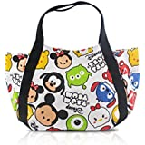 Multicolor Snap Closure Tote : Finex Tsum Tsum Snap Closure Canvas Tote With Carry Handles - Travel Lunch Box Bag Diaper Bag Gym Tote Cosmetic Bags