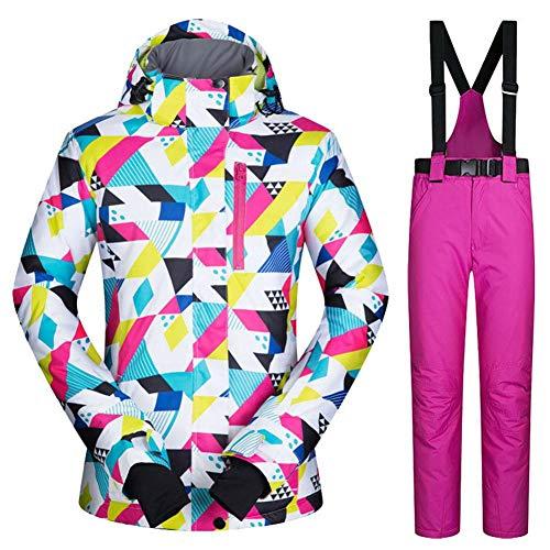 Unbekannt Per Womens Skianzug Jacke Wasserdicht Winddicht Warme Damen Jacke Winter Snowboard Anzug Snowproof Outdoor Sports Jacket -