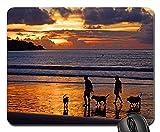 Gaming-Mauspads, Mauspad, Jimbaran Beach Jimbaran Indonesien Bali Sunset