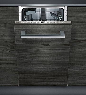 Siemens iQ300 SR636X01IE lavavajilla Totalmente integrado 9 cubiertos A+ - Lavavajillas (Totalmente integrado, Estrecho (45 cm), Acero inoxidable, Botones, 1,75 m, 1,65 m)