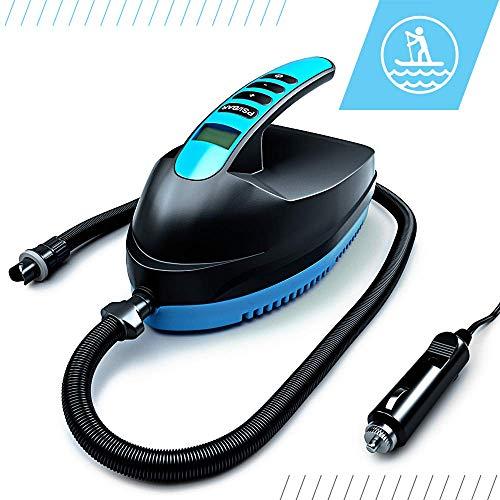 Bluefin Elektrische SUP Luftpumpe | Paddel Board | Aufblasbare Boote | Luftmatratze | 12V DC | PSI/BAR | Tragbar | Hochdruck | Kompressor | Schnelles Pumpen | Entwickelt für Aufblasbare Paddleboards