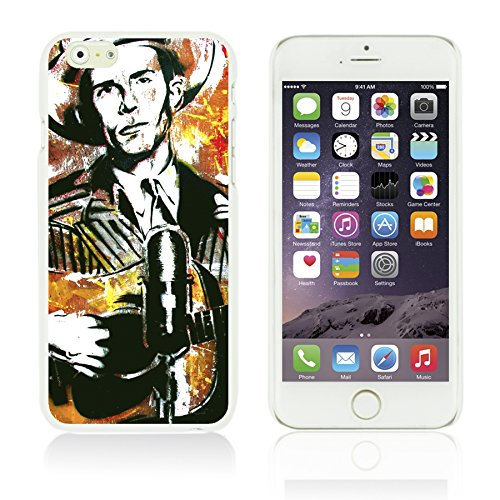 OBiDi - Celebrity Star Hard Back Case / Housse pour Apple iPhone 6 Plus / 6S Plus (5.5)Smartphone - Marvin Gaye Hank Williams