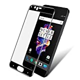 #8: Angel Gadgets Golden Series Tempered Glass Oneplus 5 Tempered Glass, Screen Protector 0.2.5mm Clear 2.5D Edge to Edge Cruved For One Plus 5 Full Coverage Tempered Glass Screen Protector [Edge to Edge] Bubble Free (black)