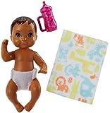 Bébé Poupée Marron Foncé   Barbie   Mattel FHY81   Skipper Babysitter   Family