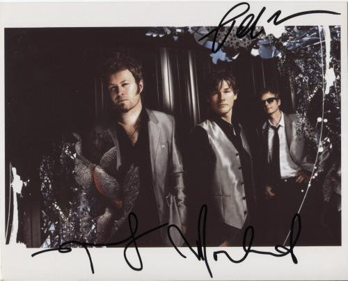 A-Ha Aha (Band) FULLY SIGNED 8