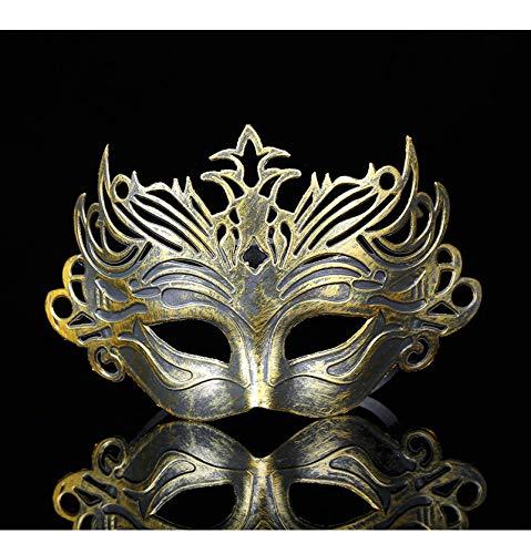 Halloween Maske Masken Männlich Filigran Laser Geschnittene Männer Venezianische Maskerade Augenmasken Party Halloween Cosplay Mardi Gras - Mardi Gras Kostüm Männlich