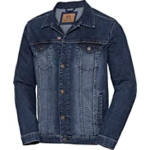 Tom Ramsey Herren Jeansjacke in Blau, Denim-Jacke, Jeans Herrenjacke,  Übergangsjacke im 30b6886547