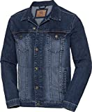 Tom Ramsey Herren Jeansjacke in Blau, Denim-Jacke, Jeans Herrenjacke, Übergangsjacke im Used-Look für Männer, bequem & robust, Größe 48 - 60