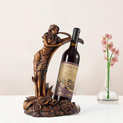 XIAPENGWeinregal Dekoration Weinflasche Regal Europ?ischen kreative Weinregal modernen minimalistischen Hause Wohnzimmer Schrank Zubeh?r
