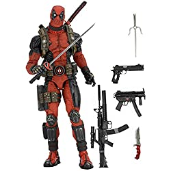 NECA- Deadpool Figura de 45 cm, Escala 1:4, Marvel (NEC0NC61384)