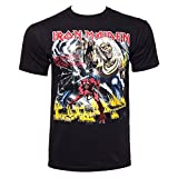 Iron Maiden Number Of The Beast Graphic Camiseta Negro L