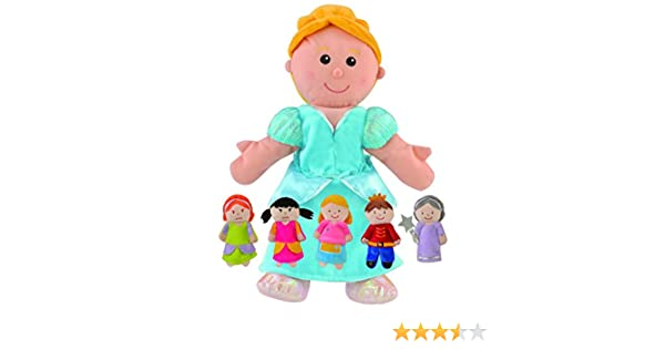 FIESTA Crafts Set di Marionette da Mano e Dita, Motivo