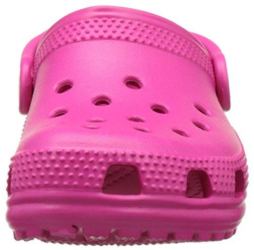 Crocs Classic Clog K Cdy Pink, Zoccoli Unisex – Bambini Rosa (Candy Pink)