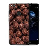 Stuff4 Gel TPU Hülle / Case für Huawei P10 Lite / Nesquik Muster / Getreide Kollektion