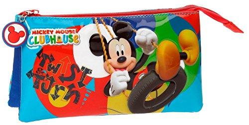 Disney-Trousse trois compartiments Mickey Twist