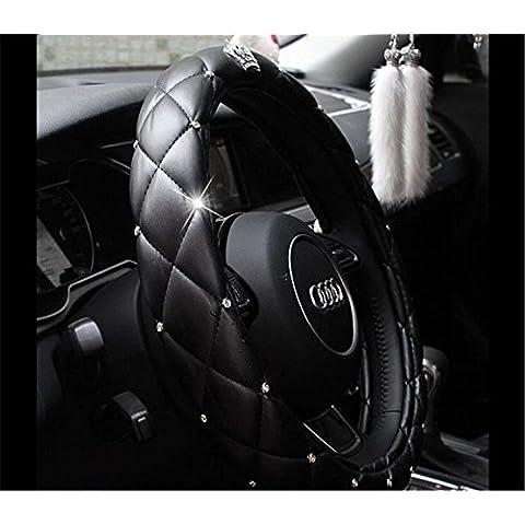 EarthSafe® Copertura del volante dell'automobile, 38 centimetri 15