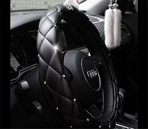 EarthSafe® Car Steering Wheel Cover, 38CM 15