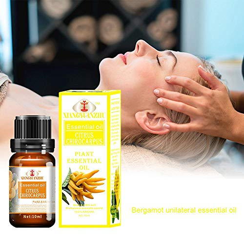 Bio Massageöl, leegoal Relax Äkostbares Öl 100% reine Aromatherapie Öle, Pure, Natural, Cruelty Free, Vegan, Dampf verdünnte Massage-Basisöl Valentine Gabe 10ml)