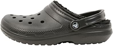 Crocs Men's and Women's Classic Lined Clog | Fuzzy Slippers