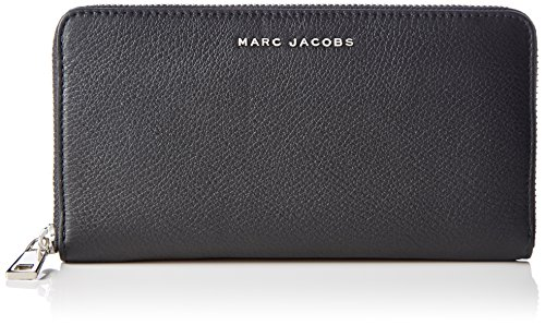 Marc JacobsWingman Slgs Standard Continental Wallet - Portafoglio Donna , multicolore (Mehrfarbig (BLACK MULTI)), 4x13x26 cm (B x H x T)