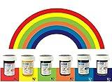 PME Colour Gel Paste Cupcake Decorating Rainbow Cake Colours 6 Set Kit