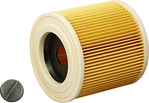 Preisvergleich Produktbild 1x Patronen-Filter geeignet für Kärcher WD 2500 M, WD 3200 AF, 6.414-552.0