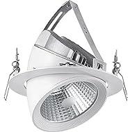 Xh&Yh Elephant Nose Light Lighting Embedded Lighting Business 28W Trunk Lights Cool White (5700k)