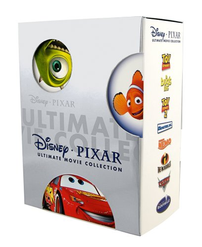 Disney Pixar Ultimate Movie Collection (Toy Story / Toy Story 2 / Findet Nemo / The Incredibles / A Bug's Life / Monster Inc. / Autos / Ratatouille) (Dvd Story Collection Toy)