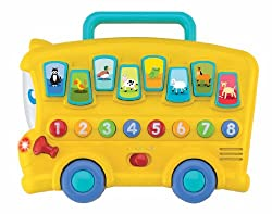 Winfun Animal Sounds Bus, Multi Color