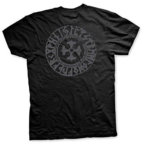 Asgards Krieger 3 - Tshirt Schwarz