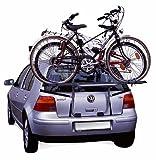 Menabo 000039100000 Steel Bike Portabicicletas de Vuelta, Acero, con 2 Carriles