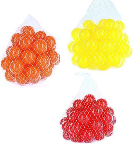 Balles pour balles Mélange Mix Mix Mix avec Rouge, Jaune et orange | Prix Très Raisonnable  4aefe3