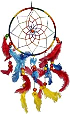 Odishabazaar Multicolored Dream Catcher Wall Hanging - Attract Positive Dreams ( Colors may vary )