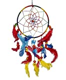 #4: Odishabazaar Multicolored Dream Catcher Wall Hanging - Attract Positive Dreams ( Colors may vary )