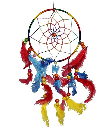 Odishabazaar Multicolored Dream Catcher Wall Hanging - Attract Positive Dreams ( Colors...