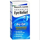 Bausch + Lomb Bausch & Lomb Advanced Eye Relief Rejuvenation Lubricant Eye Drops 0. 50 oz (Pack of 6)