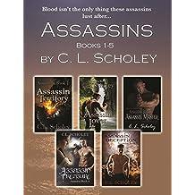 ASSASSINS SERIES- BOOKS 1-5 (English Edition)