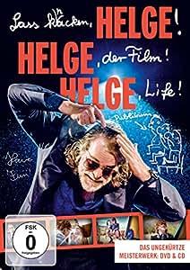 Helge Schneider - Lass knacken, HELGE, HELGE, der Film! HELGE Life! (+ Audio-CD) [2 DVDs]