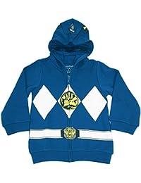 Power Rangers - Sudadera con capucha y cremallera para niños