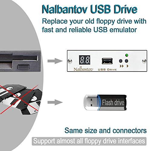 Nalbantov Industrial USB Diskettenlaufwerk Emulator für Morbidelli Author STC 510 ~ TRIA