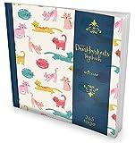 GOCKLER® Dankbarkeits-Tagebuch: 365 Tage Erfolgs-Journal für mehr Achtsamkeit, Bewusstsein & Glück im Leben +++ NEUE AUFLAGE mit glänzendem Softcover +++ DesignArt.: Bunte Katzen