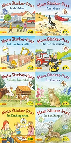 Pixi-Bundle 8er Serie 199: Sticker Pixis (Pixi-8er-Set, Band 199) (Band Pixie)