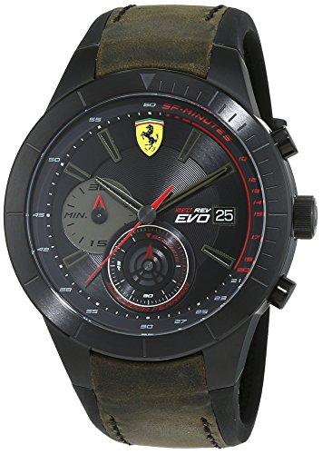 Ferrari 0830397 RedRev Evo Chronograph - Reloj de pulsera para hombre