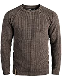 INDICODE Cael - Pull en Maille- Homme