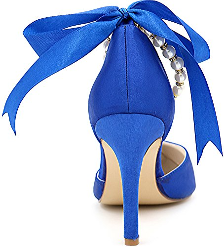 Salabobo Sandales Compensées femme Bleu