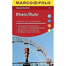 MARCO POLO Freizeitkarte Rhein, Ruhr