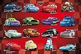 Disney Cars Poster Amazing Collage Rare Hot Neu
