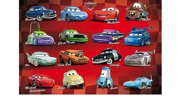 DISNEY CARS POSTER Piston Cup RARE NEW HOT 24X36